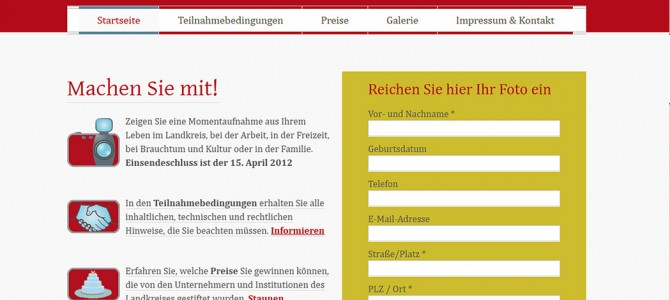 """Fotowettbewerb """"Unser Landkreis Sigmaringen"""""""