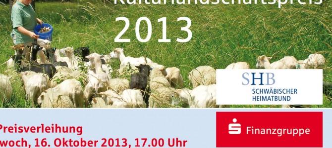 Kulturlandschaftspreis 2013