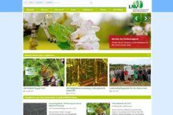 Screenshot lnv-bw.de